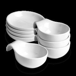 HOME CREATION® Tigelas de Porcelanas