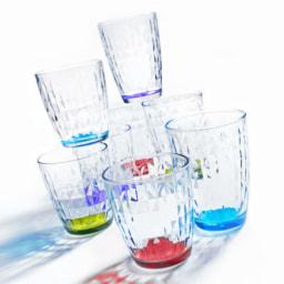 HOME CREATION® Copos Coloridos para Água