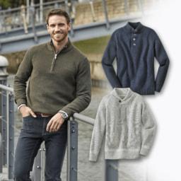STRAIGHT UP® Pullover para Homem