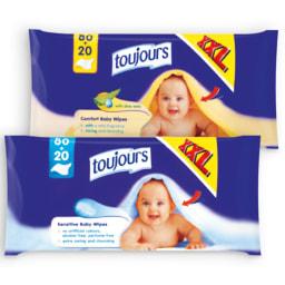 TOUJOURS® Toalhetes para Bebé
