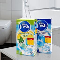 MISTER FRESH® Pastilhas de Limpeza WC