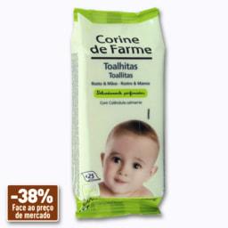 Corine de Farme Toalhitas de Rosto