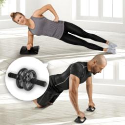 ACTIVE TOUCH® Tapete/ Roda/ Barras Exercício