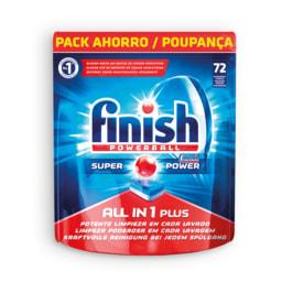 FINISH® Pastilhas para Máquina de Loiça Tudo em 1
