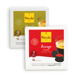 NICOLA® Cápsulas Café