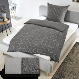 NOVITESSE® Roupa de Cama Grey & White