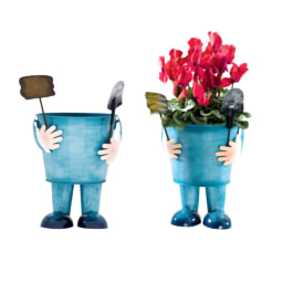 MELINERA® Vaso Decorativo em Metal
