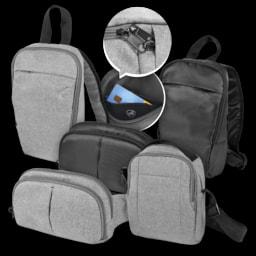 Mochila/ Bolsa com Proteção Antirroubo