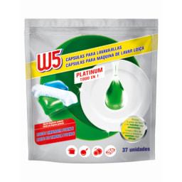 W5® Pastilhas All in One para Máquina  de Loiça