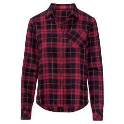 Esmara® Camisa de Flanela Esmara® Casaco Comprido para Senhora