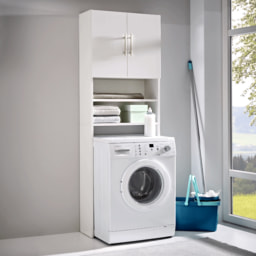 HOME CREATION® Armário Superior para Máquina de Lavar Roupa