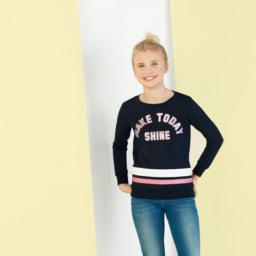 Pepperts® Camisola Sweat para Rapariga