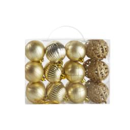 MELINERA® Bola para Árvore de Natal 24 Unid.