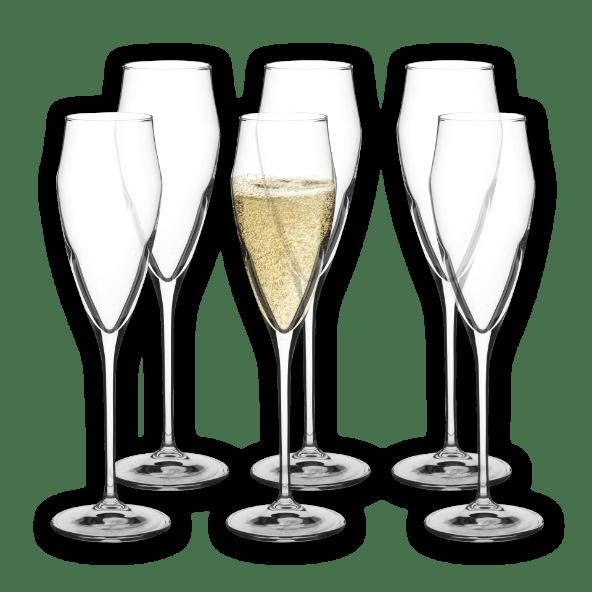 HOME CREATION® Copos para Champanhe