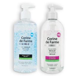 CORINE DE FARME® Gel / Água Micelar