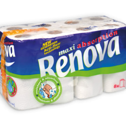 RENOVA® Rolos de Cozinha Maxi Absorption