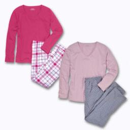 Pijama de Senhora Tamanhos Grandes