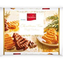 FAVORINA® Árvore Natal de Massa Folhada e Chocolate