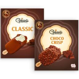 GELATELLI® Gelado Clássico de Baunilha/Choco Crisp