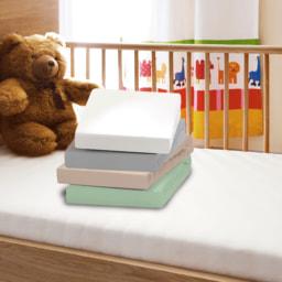 NOVITESSE® Lençol Jersey para Cama de Criança