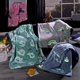 HOME CREATION KIDS® Manta para Criança Glow in the Dark