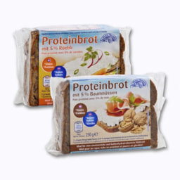 Pão Proteico Nozes/Cenoura