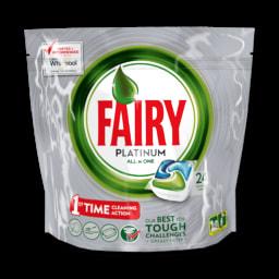 Detergente Máquina Loiça Pastilhas Platinum All In One Fairy