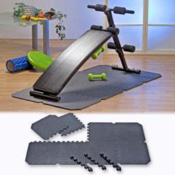 Tapete Modular para Aparelho de Fitness