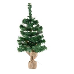 Melinera® Árvore de Natal 60 cm com Luzes LED