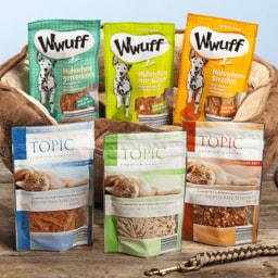 TOPIC/ WWUFF® Snacks para Gato ou Cão