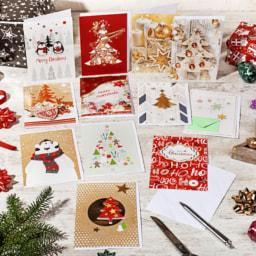 LIVING ART® Postais de Natal