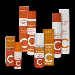 BIOCURA® Creme de Dia/ Sérum/ Máscara/ Booster com Vitamina C