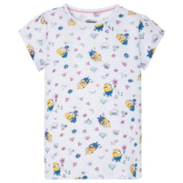 Pijama Curto Minions para Menina