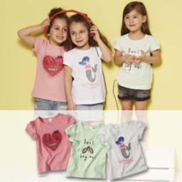 T-shirts para Menina