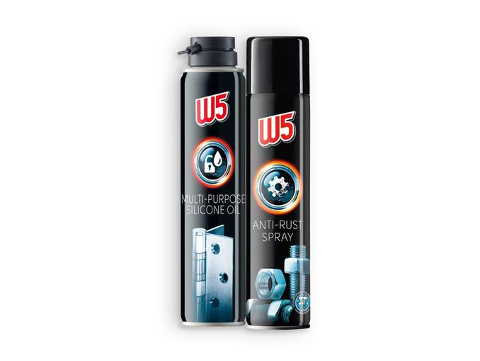 W5® Spray Anti-ferrugem / Óleo de Silicone Universal