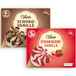 GELATELLI® Gelado Cone Chocolate / Morango