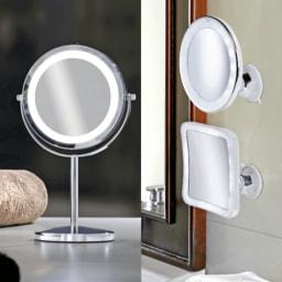 LIGHT ZONE® Espelho de Maquilhagem