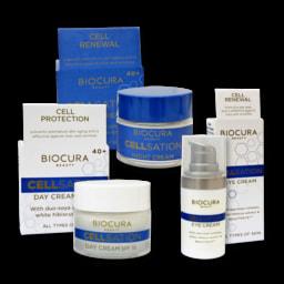 BIOCURA® Creme de Dia/ Noite/ Olhos Cellsation
