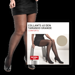 MARCOLLECTION® Collants 40 DEN Tamanho Grande