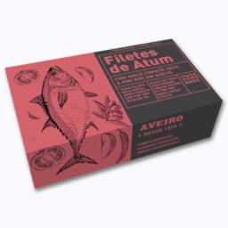 Filetes de Atum com Maçã, Tomate Seco e Piripíri
