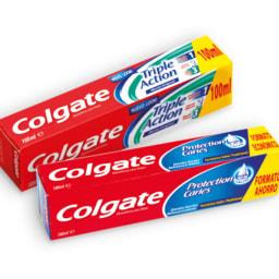 COLGATE® Pasta Dentífrica Triple Action / Anti-Tártaro / Anti-cáries