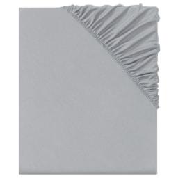 Meradiso® Lençol Ajustável em Cetim 140-160x200 cm