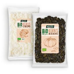 ALESTO® Sementes de Abóbora Bio / Snack de Coco Bio