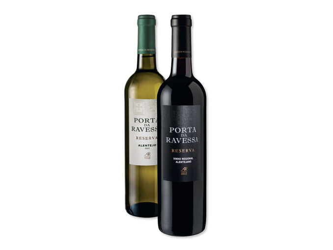 Porta da Ravessa® Vinho Tinto / Branco DOC Alentejo Reserva