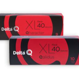 DELTA Q® Cápsulas de Café Qharacter / Qalidus Pack XL