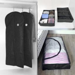 HOME CREATION® Saco/ Capas/ Caixas para Vestuário