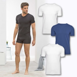 T-Shirt Interior em Algodão Orgânico
