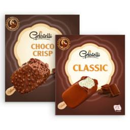 GELATELLI® Gelado Clássico Baunilha / ChocoCrisp