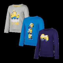 Sweatshirt Minions para Menino