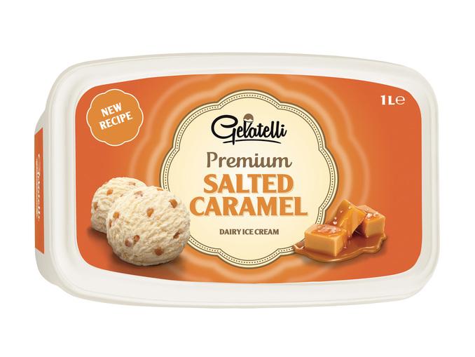 Gelatelli® Gelado de Caramelo/ Café / Chocolate